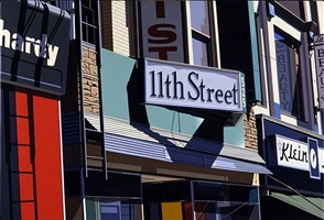 11th street by robert cottingham