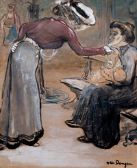 Scène de rue, 1902