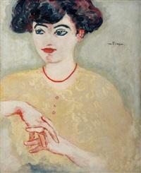 Femme en buste les mains jointes, la..., 1906