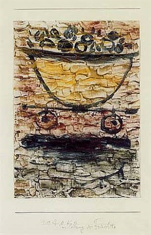verladung der früchte (embarkation of fruits) by paul klee