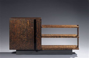 oregon pine sideboard, <i>c. 1935</i> by andré sornay