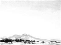 desert landscape by marques e. reitzel
