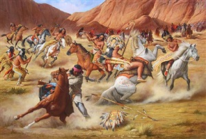 indian battle by john berry