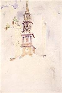 st. paul's chapel spire by james heseldin