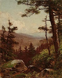 view of the valley by george henry smillie