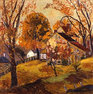 autumn gold, lumerville by fern isabel coppedge