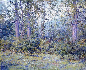 meadow, chester springs by charles schell corson