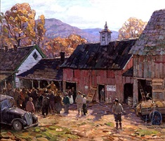 the country auction by aldro thompson hibbard