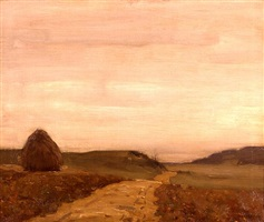 road near the sea by william langson lathrop
