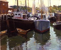 gloucester wharf by harry leith-ross