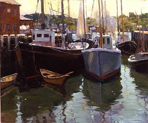 gloucester wharf by harry leith-ross
