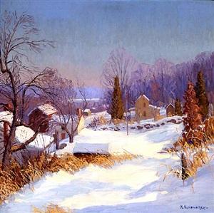 winter sunlight by kenneth r. nunamaker