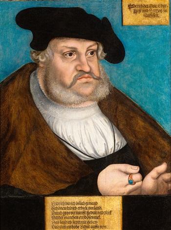 ルーカス・クラナッハ長老による賢者フレデリックの肖像