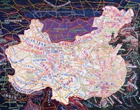 map of china by paula scher