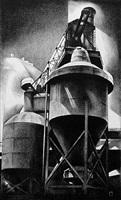 tanks #2 (steel plant) by louis lozowick