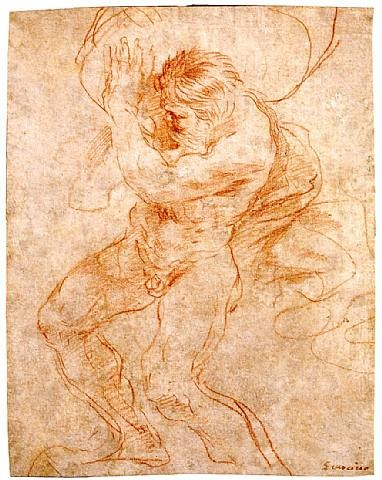 sisyphus by guercino