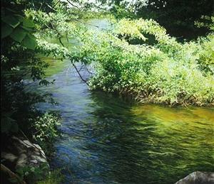 bend in the hammonasset river (sold) by cora ogden