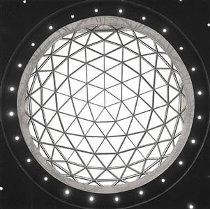 museum dome, shanghai, china # 41 by lynn davis