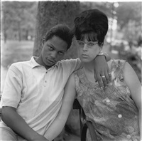 A Young Man and His Pregnant Wife in..., 1965