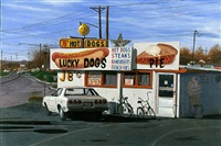 hot dog pies by john baeder
