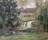 landscape by zoltan sepeshy