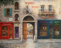 vino toscano by franco puliti