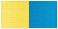Grids & Colour (Yellow and Blue), 1979