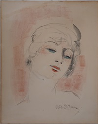 Young blonde woman, 1927
