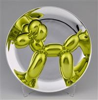 Yellow-Gold Balloon Dog, 2015