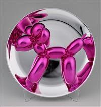 Magenta Balloon Dog, 2016