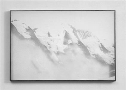 untitled (mountains) by eva schlegel
