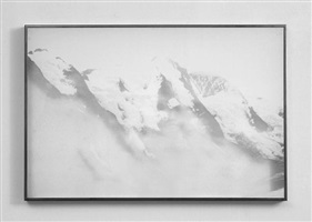 untitled (mountains) by eva schlegel