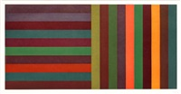 Horizontal Color Bands and Vertical Color..., 1991