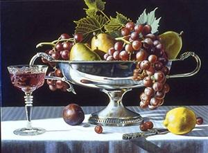 silver bowl ii by steven jones