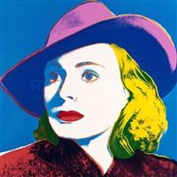 Ingrid Bergman, With Hat (FS II.315) , 1983