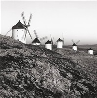 quixote's giants, study 8, consuegra, la mancha, spain by michael kenna