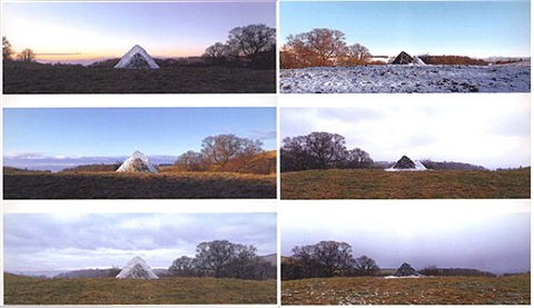 stone pile... the following day, camling, dumfriesshire by andy goldsworthy