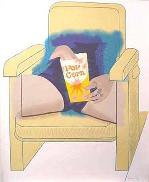 popcorn by larry rivers