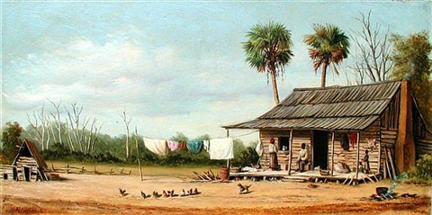 southern cabin by william aiken walker
