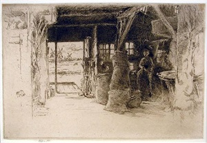 the mill by james abbott mcneill whistler
