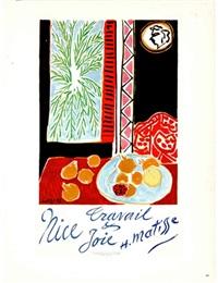 Henri Matisse-Le Platane-Le Buisson-2017 Lithograph