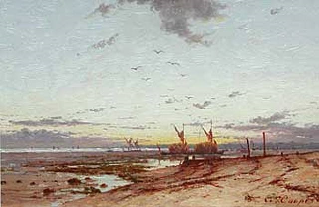 european landscape by colin campbell cooper