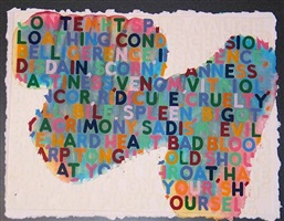 contempt by mel bochner