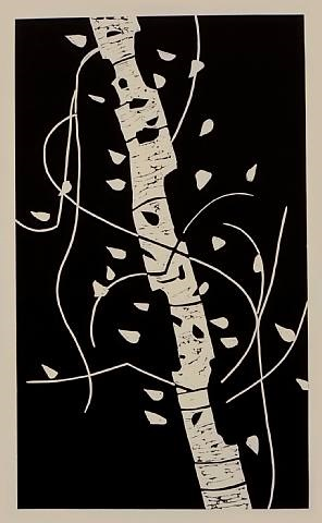 large birch by alex katz