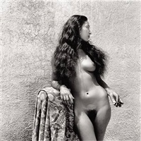 nieves, model of diego rivera, cuernavaca by fritz henle