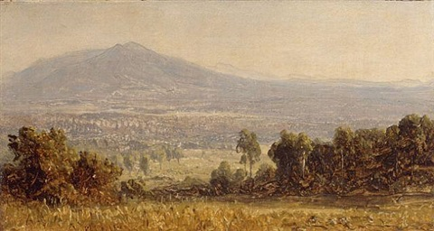 foothills of the rockies by sanford robinson gifford