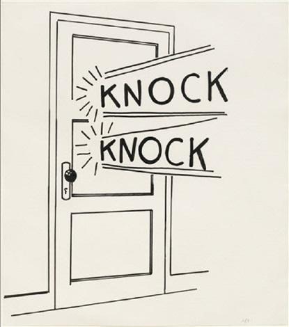 Knock Knock by Roy Lichtenstein on artnet
