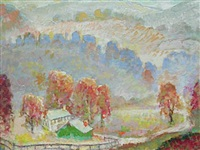 home in hills by otto eugene hake