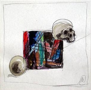 untitled by markus lüpertz
