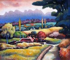 landscape by han woo lee